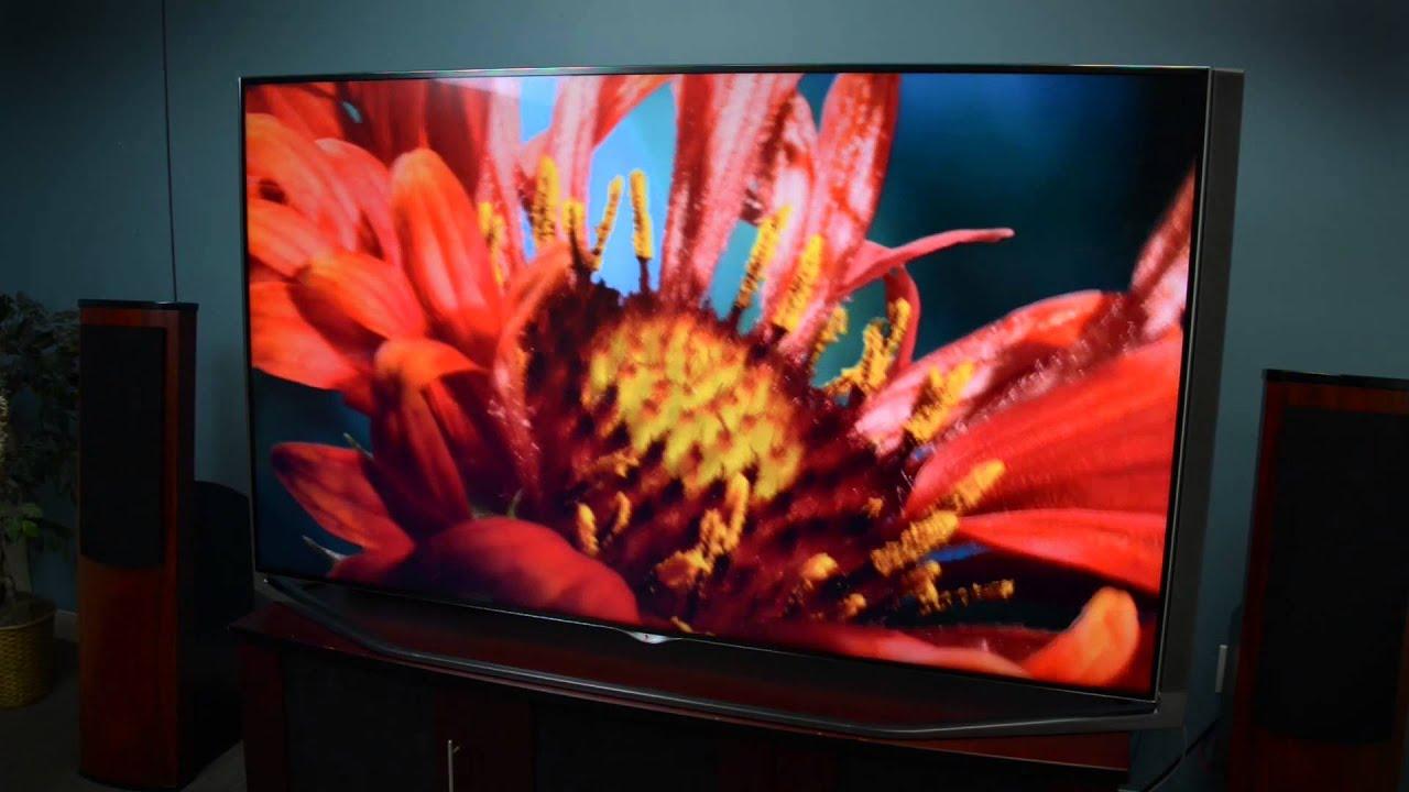 Hands on: LG UB9800 Ultra HD 4K TV
