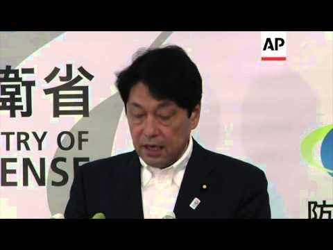 Japan defence minister