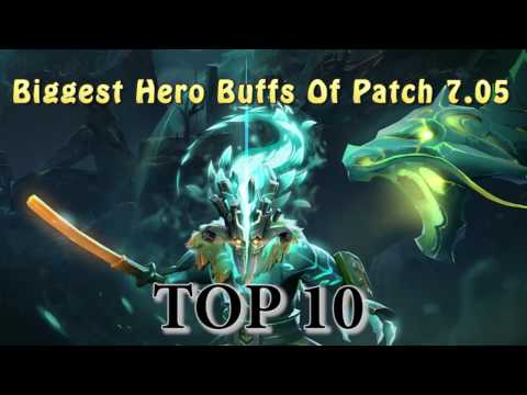 Top 10 Best hero buffs of Patch 7.05