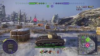 World of Tanks console T-21 / 3 Kills + 2k dmg + Mastery