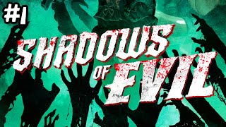 Black Ops 3 Zombies: Shadows Of Evil First Run #1 - TURNING ON THE POWER (Call Of Duty)