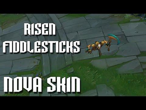 Risen Fiddlesticks - Nova Skin (League of legends)