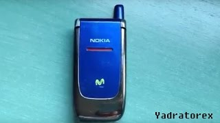 Nokia 6060 retro review (old ringtones, wallpapers & games) flip phone