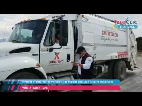 Veracruz Es Basurero De Municipios De Puebla; Clausuran Tiradero Clandestino