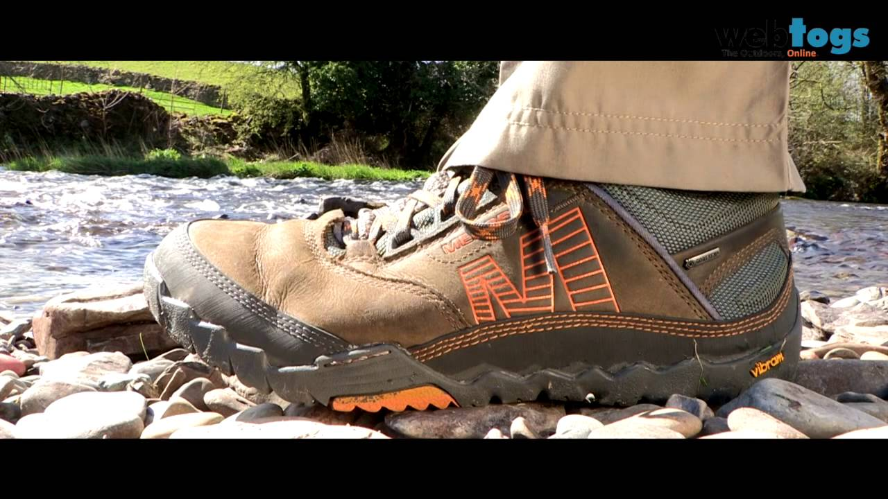 merrell vibram walking shoes review