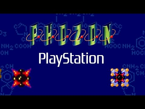 Phozon Gameplay (PS1)