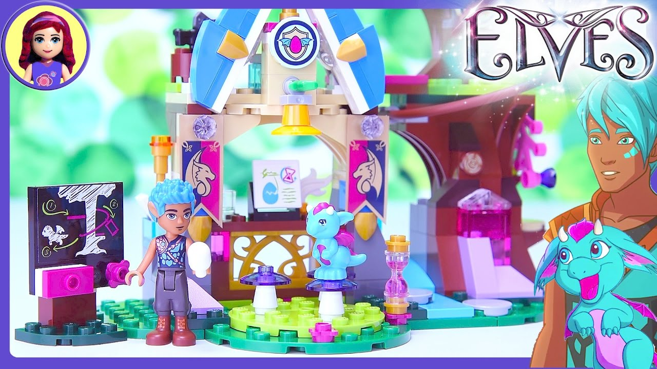 Lego Elves Elvendale School Of Dragons Build Review Silly
