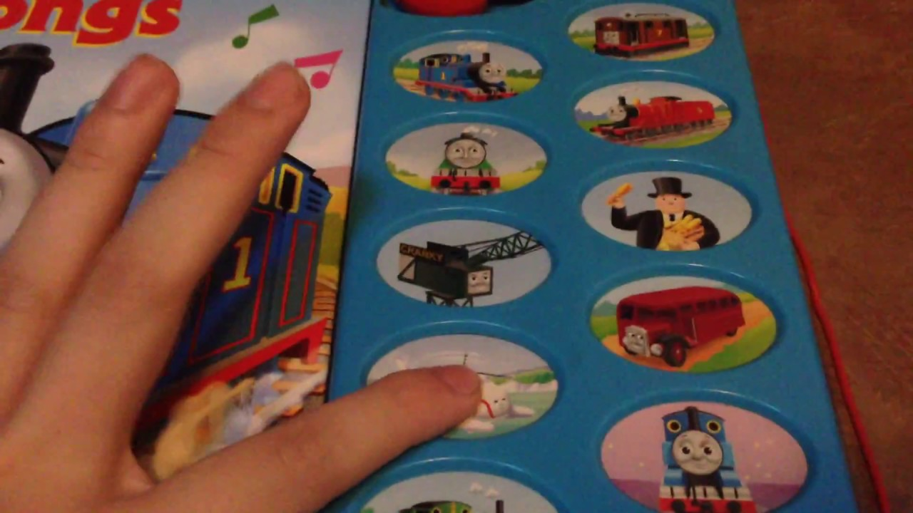 thomas and friends sing along songs sound book youtube. Black Bedroom Furniture Sets. Home Design Ideas