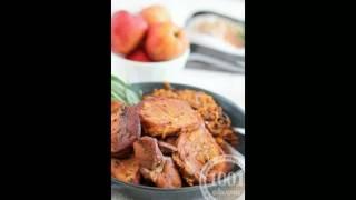 Рецепт капусты тушеной с мясом в аэрогриле