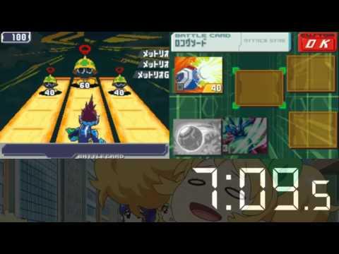 Mega Man Star Force 3 Any% No Cards Black Ace Speedrun 2:26:49 (World Record)
