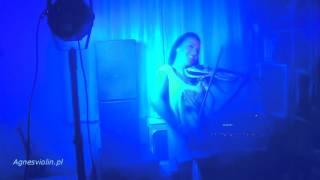"""Sandra Lyng - """"Play My Drum""""-violin cover (Agnes Violin) skrzypce elektryczne"""