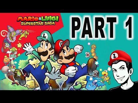 MARIO AND LUIGI SUPERSTAR SAGA | Part 1: Adventure Begins!!