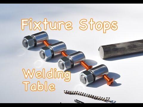 Machining Fixture Stops for Build Pro - Certiflat - Fabblock Welding Tables - Stop Warping Welds