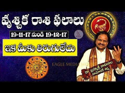 Vruschika Rasi (Scorpio Horoscope) - November 19th - December 19th Rasi Phalalu| Eagle Media Works