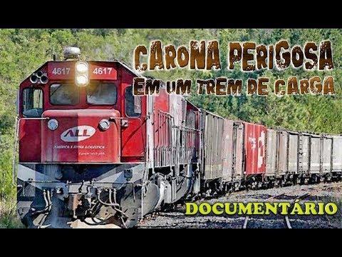 Documentário: Carona Perigosa em um trem de carga