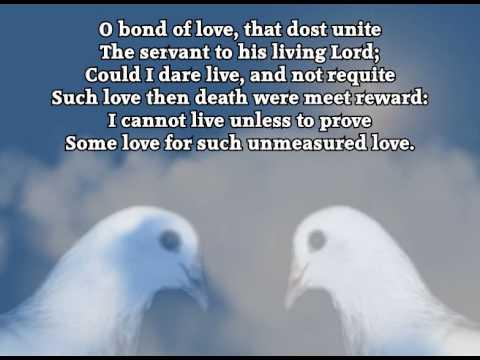 O Bread of Heaven (Lyrics) - Arr. P.M.Adamson