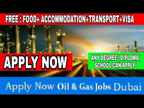 Engineers Job In Dubai | Oil&gas Company Vacancy In Dubai | Electrical | Mechanical Engineer Vacancy