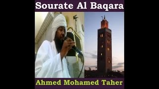 Sourate Al Baqara - Ahmed Mohamed Taher