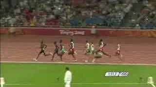 Athletics - Men's 800M - Final - Beijing 2008 Summer Olympic Games