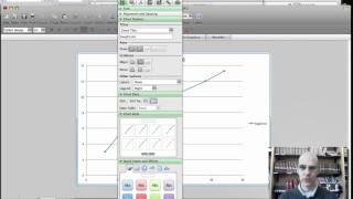 إنشاء عنوان العلامات محاور على Excel الرسم البياني.mov