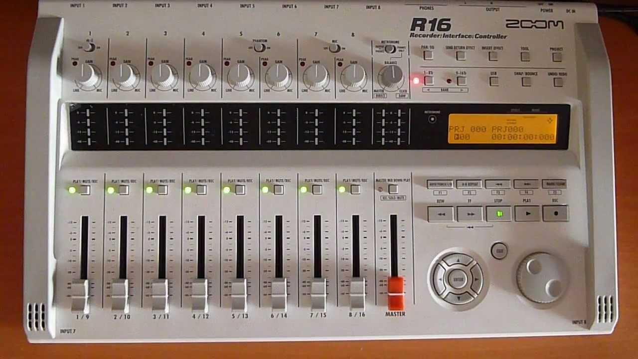 ZOOM R16 RECORDER AUDIO DRIVER WINDOWS 7 (2019)