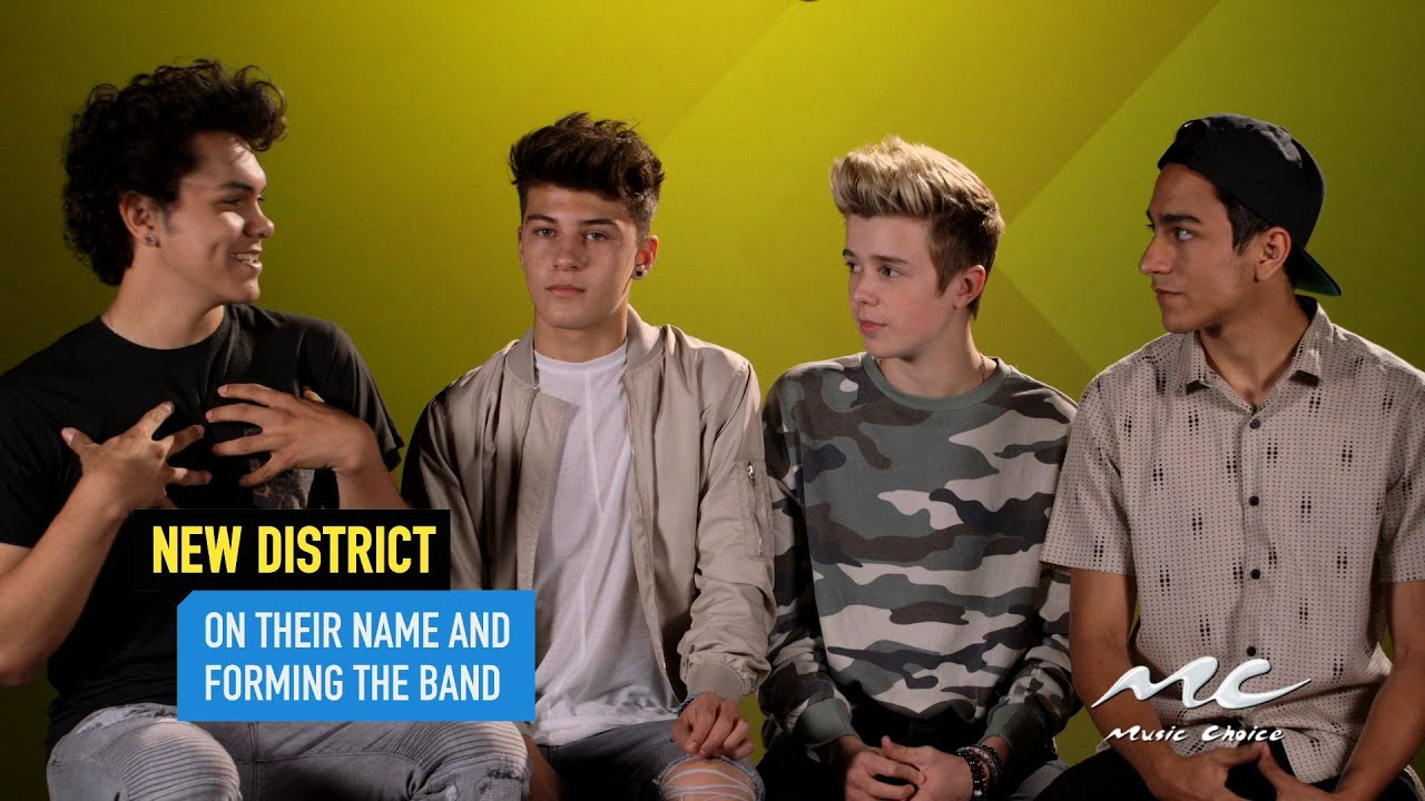 New Name: New District On Their Band Name