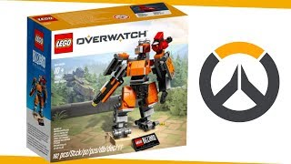 Overwatch | Lego Bastion Unboxing + Speed Build