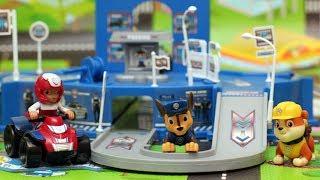 Щенячий патруль Полицейский участок Мультфильмы про машинки Игрушки Развивающие мультики для детей