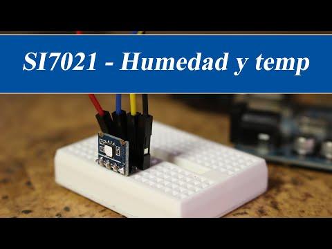 Humedad y temperatura con Arduino y SI7021