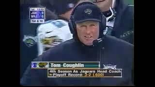 Jacksonville Jaguars vs NY Jets 1998 AFC Div Playoff Game