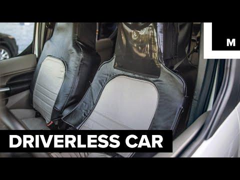 Driverless car prank