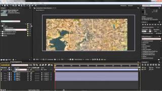 Satellite Zoom In Effect Tutorial Part 1
