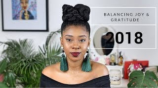 Plans for 2018| Hair Goals, Business, Finding Balance In My Journey