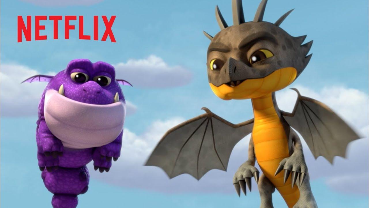 Daring Rescues Compilation 🐉 Dragons Rescue Riders | Netflix Jr