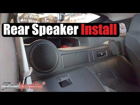 Nissan 350Z Rear Speaker Install | AnthonyJ350