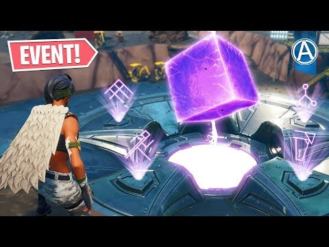 "NEW Loot Lake ""CUBE EVENT"" Happening RIGHT NOW! (Fortnite Battle Royale LIVE)"