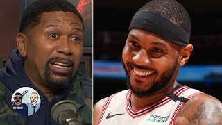 Jalen Rose is happy to see Carmelo Anthony's success with the Blazers  | Jalen & Jacoby