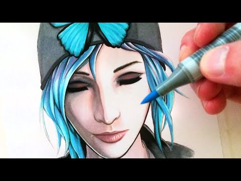 Let's Draw Chloe Price from Life is Strange - FAN ART FRIDAY thumbnail