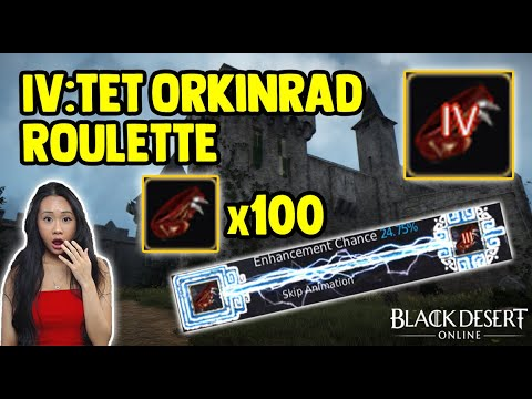 100 Orkinrad Belts To TET - Enhancing Accessories For Profit - Black Desert Online [BDO] Gameplay