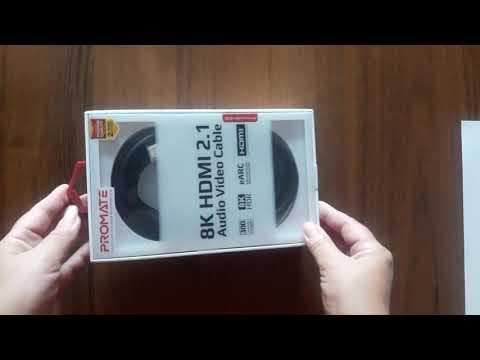 Кабель Promate ProLink8K-300 HDMI 2.1 UltraHD-8K HDR eARC 3 м Black (prolink8K-300.black)