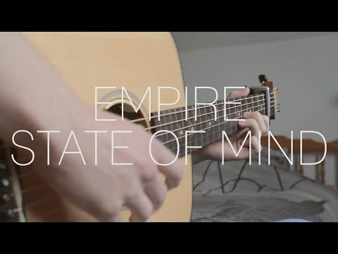 Alicia Keys - Empire State Of Mind (New York) - Fingerstyle Guitar by James Bartholomew