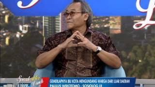 Urbanisasi Akar Masalah Sosial Perkotaan Part 02 - SAL 29/06