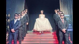 婚禮超酷進場:最猛媽媽!霸氣新娘!帥氣新郎!