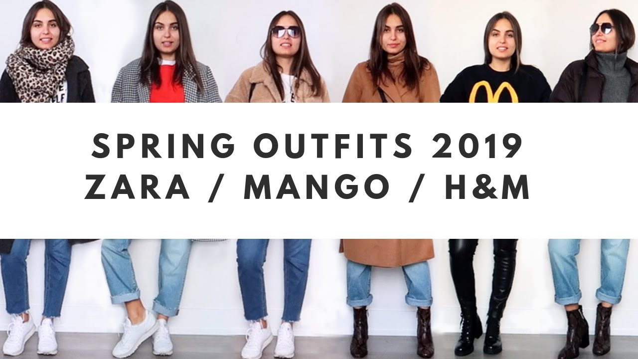 TRANSITIONAL SPRING OUTFITS 2019 | LOOKBOOK TRY ON HAUL 1