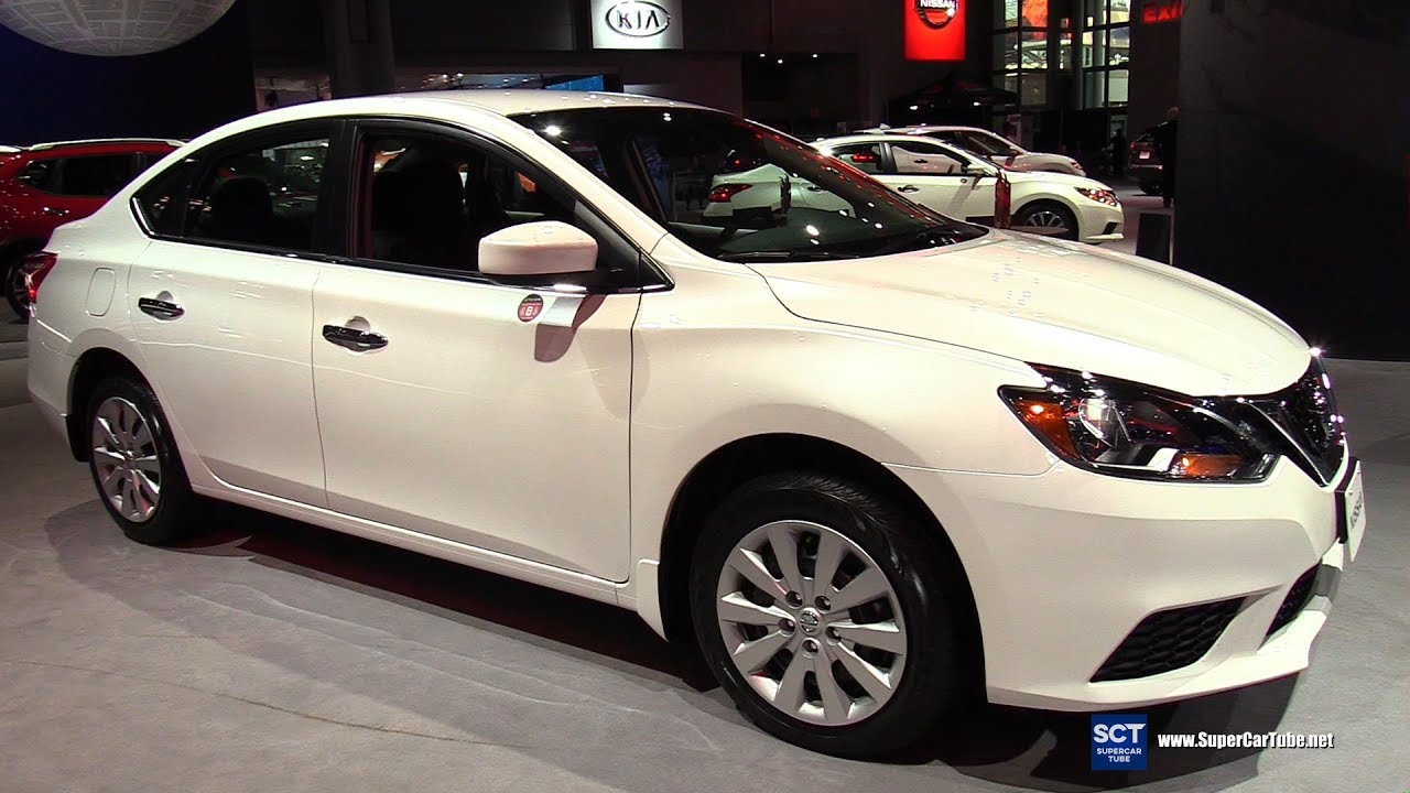2017 Nissan Sentra SV - Exterior and Interior Walkaround ...