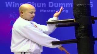 wing chun dummy training wooden dummy Lesson 10