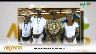 Improve Welfare Our Priority _ NYSC DG