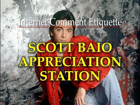 Internet Comment Etiquette: SCOTT BAIO APPRECIATION STATION