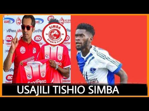 Simba sc wafanya usajili tishio Africa Junior Bayahno Aubyang pacha wa Aubameyang wa Arsenal kutoka