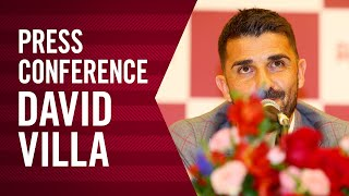 ダビド ビジャ選手 引退会見| David Villa Retirement Press Conference(2019.11.13)